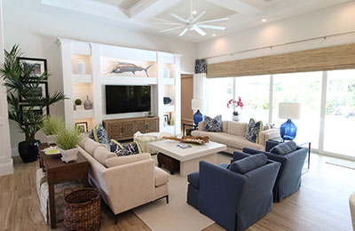 Living Areas | Pride Construction Naples